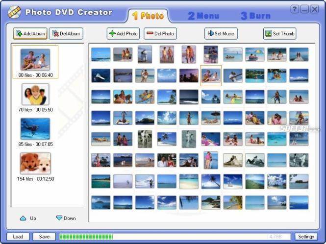 Photo DVD Creator Screenshot 2
