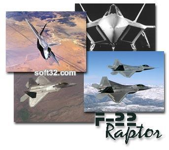 F-22 Raptor Screen Saver Screenshot 2