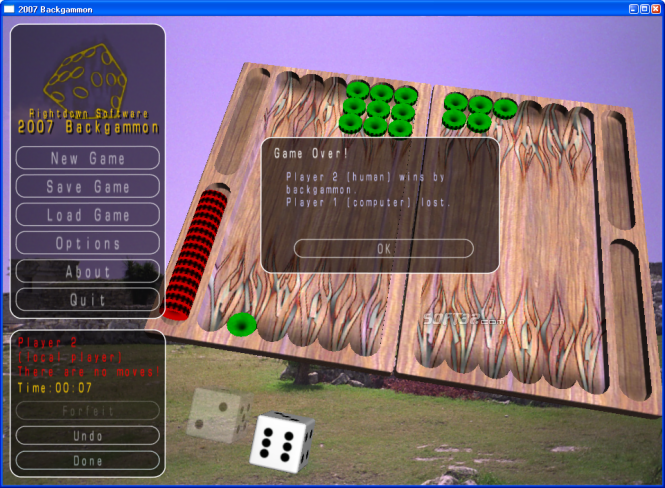 2010 Backgammon Screenshot 3
