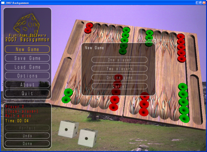 2010 Backgammon Screenshot 4