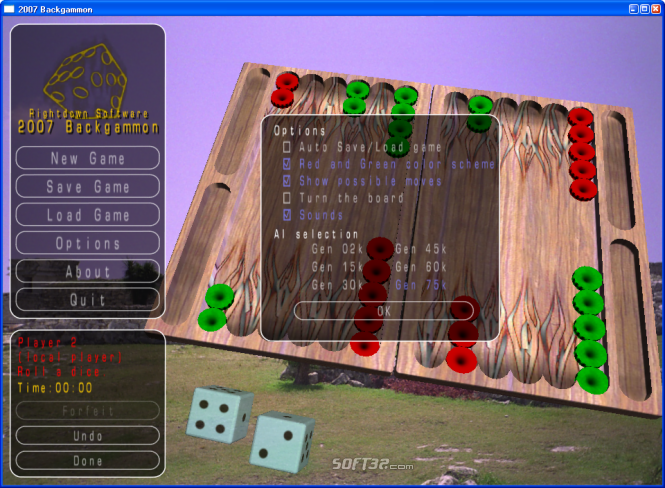 2010 Backgammon Screenshot 5