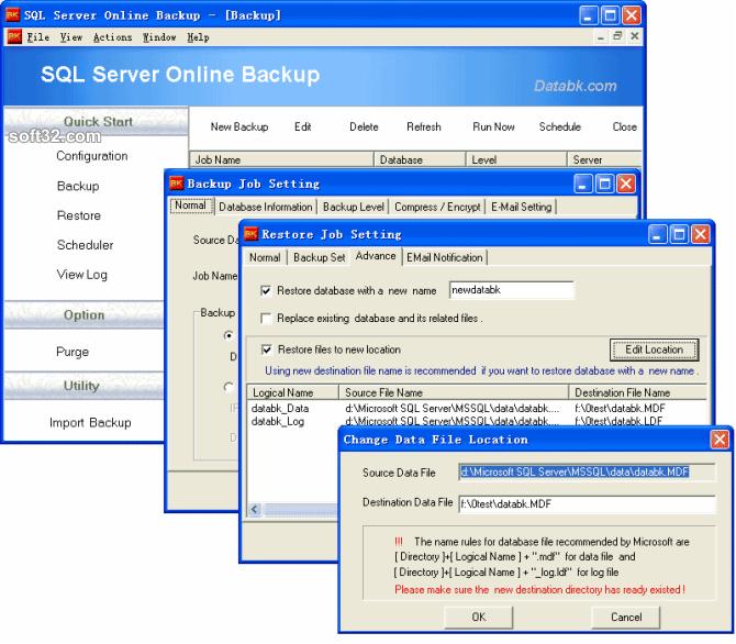 SQL Server Backup Screenshot 2