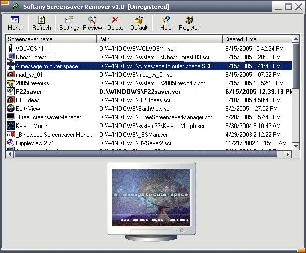 Softany Screensaver Remover Screenshot 1