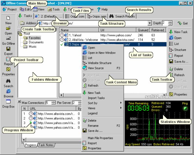 Internet Researcher Screenshot 2