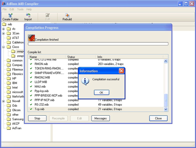 AdRem SNMP Manager Screenshot