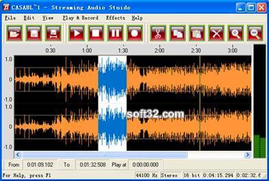 Streaming Audio Studio Screenshot 1