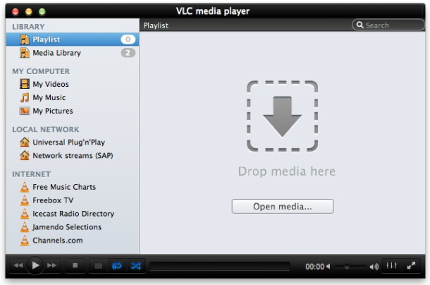 VLC Media Player Screenshot 4