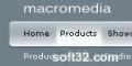 Macromedia style menu for Dreamweaver 3