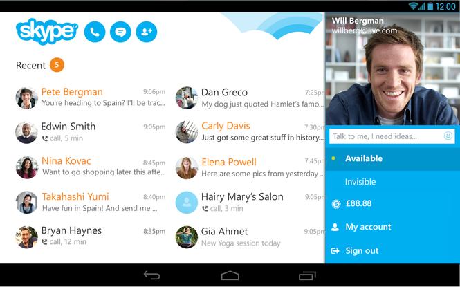 Skype Screenshot 4