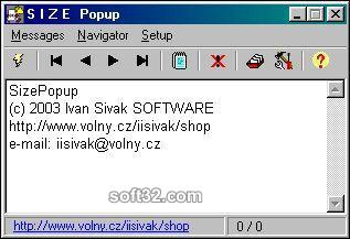SizePopup Screenshot 3