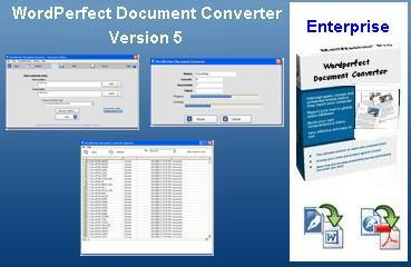 WordPerfect Document Converter 5 Screenshot