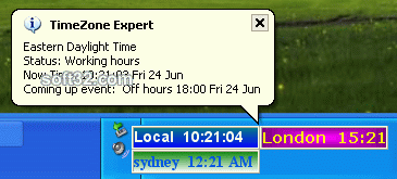 Timezone Expert  world time zone clock Gold Edtion Screenshot 3