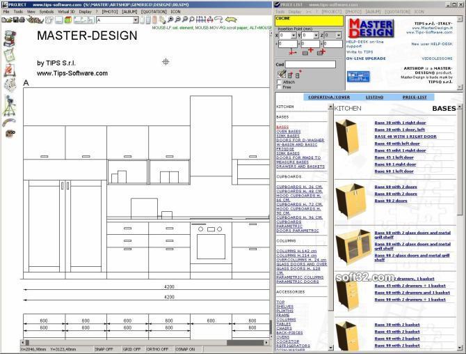 MASTER-DESIGN ART-SHOP X-Lite Screenshot 2
