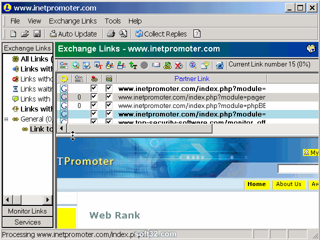 Web Link Screenshot 2