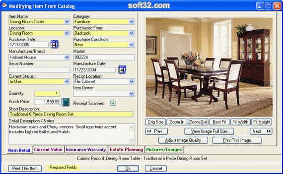Computerize Your Assets Screenshot 3