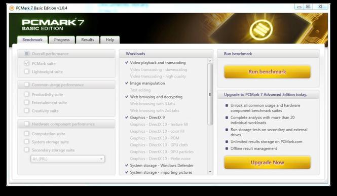 PCMark 7 Screenshot 1