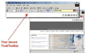 TrustToolbar Screenshot 2