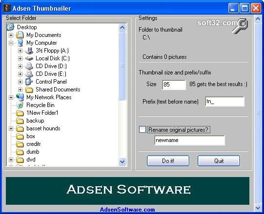 Adsen Thumbnailer Screenshot 2