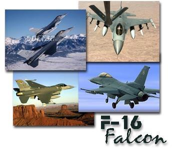 F-16 Falcon Screen Saver Screenshot 2