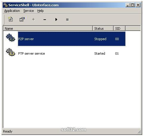 ServiceShell Screenshot 2