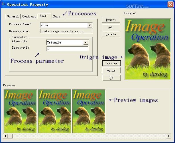 Image Operation Screenshot 1