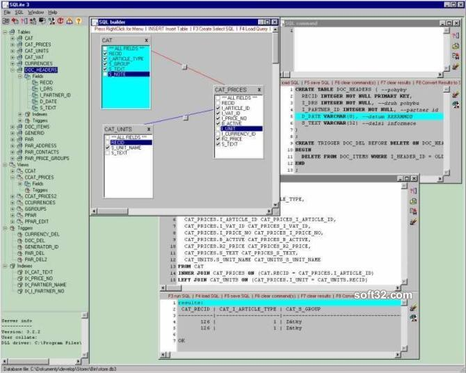 Black Cat - SQLite3 database manager Screenshot 2