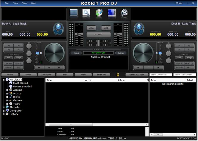 Rockit Pro DJ Screenshot