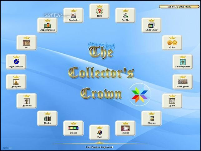 Gerriberts Collection Studio (formerly The Collectors Crown) Screenshot