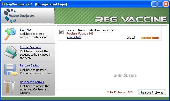 Reg Vaccine Screenshot 1