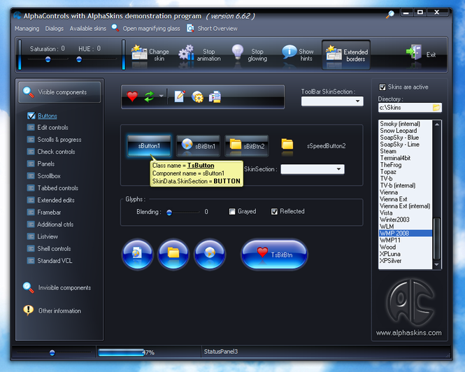 AlphaControls Lite Edition Screenshot 1