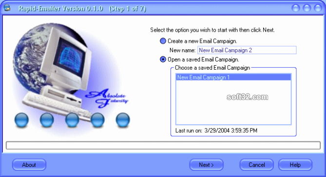 Rapid-Emailer Screenshot 3