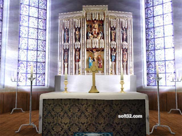 Cathedral 3D Screensaver Screenshot 3