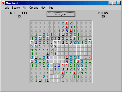 Minefield Screenshot