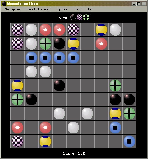 Monochrome Lines Screenshot