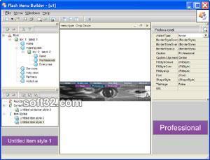Flash Menu Builder Screenshot 1
