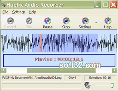 Huelix Audio Recorder Screenshot 3
