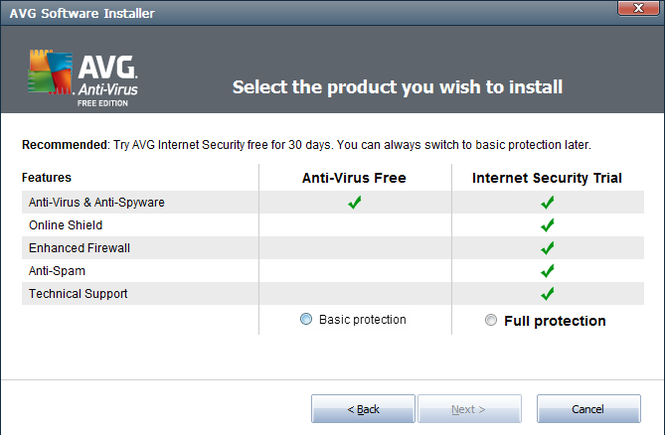 AVG AntiVirus FREE Screenshot 5