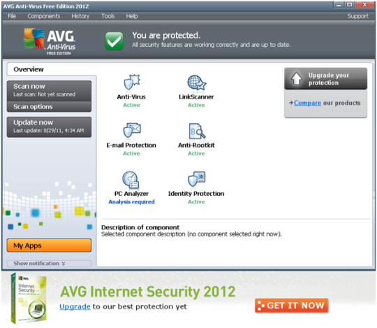 AVG AntiVirus FREE Screenshot 3