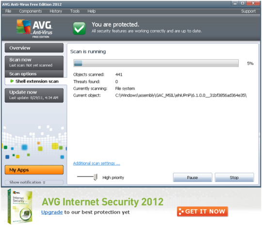 AVG AntiVirus FREE Screenshot 6