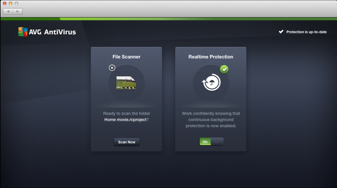 AVG AntiVirus FREE Screenshot 2