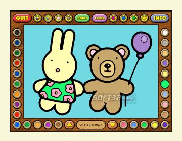 Coloring Book 7: Toys Screenshot 3