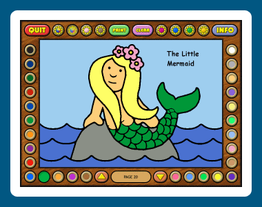 Coloring Book 8: Fairy Tales Screenshot