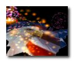 3D Fireworks Screensaver 1