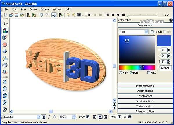 Xara 3D Screenshot 2