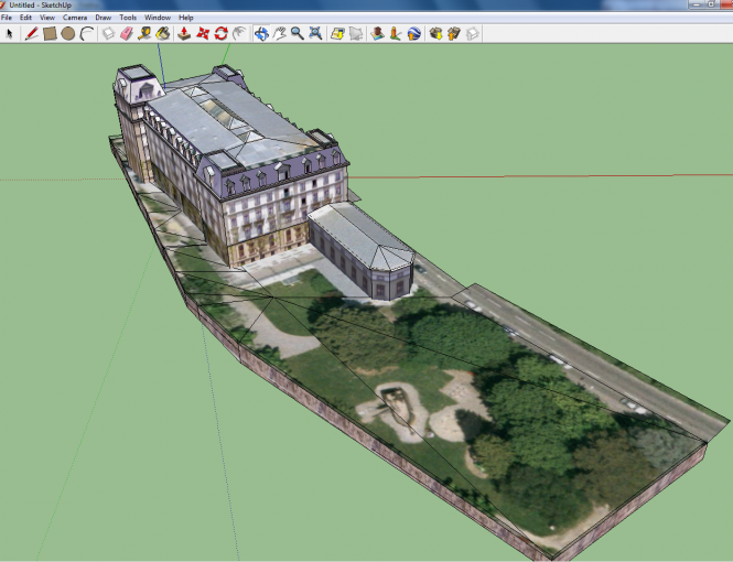 Google SketchUp Screenshot