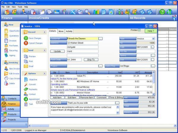 My-CRM Screenshot 2