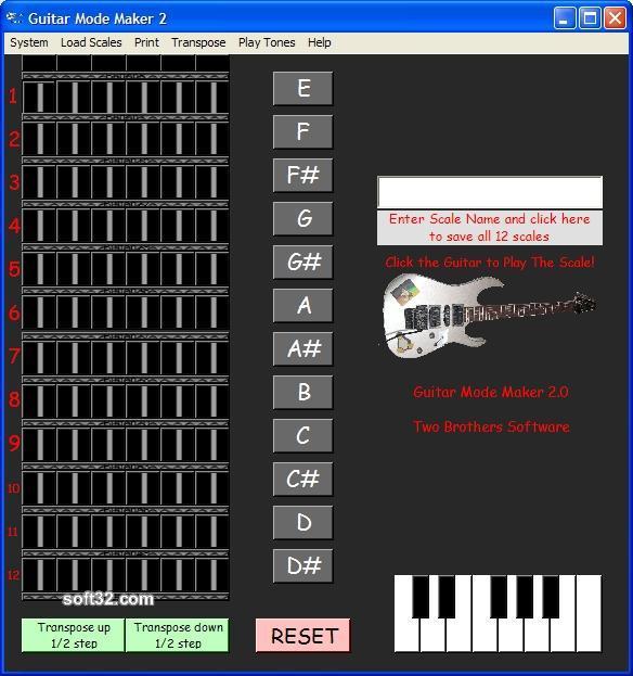 Guitar Mode Maker 2 Screenshot 3