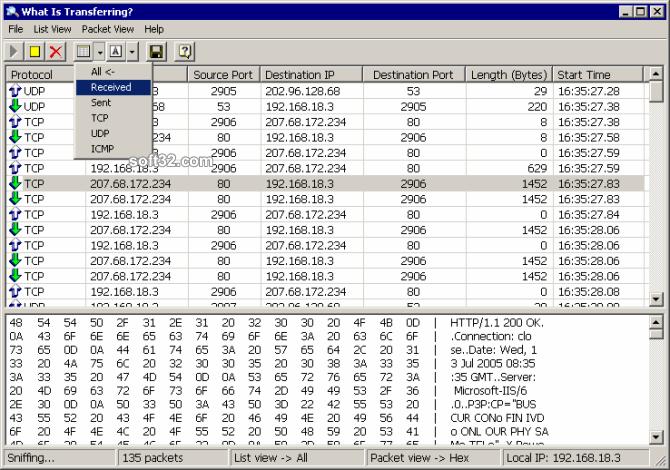 What Is Transferring Screenshot 2