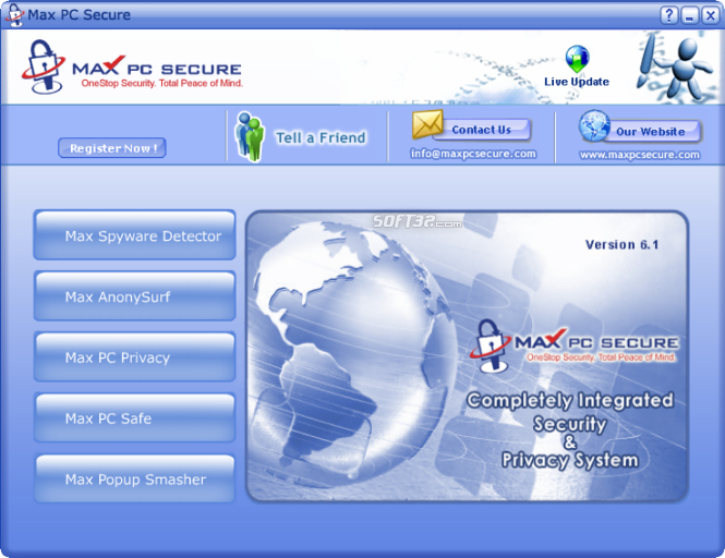Max PC Secure Screenshot 3
