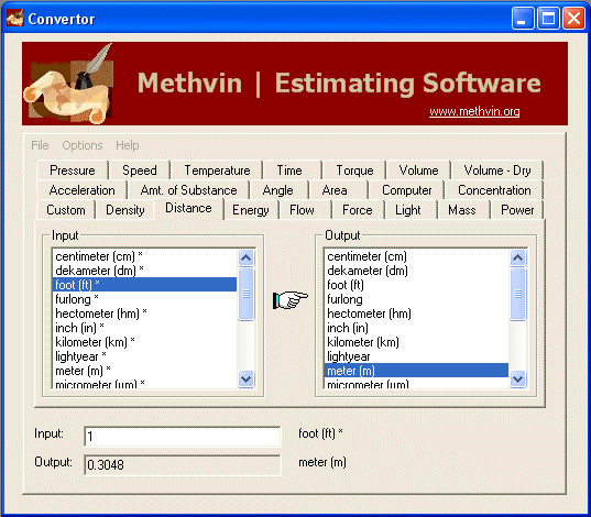 Methvin | Converter Screenshot